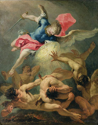 The Fall of the Rebel Angels painting