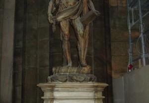 Statue of St Bartholomew
