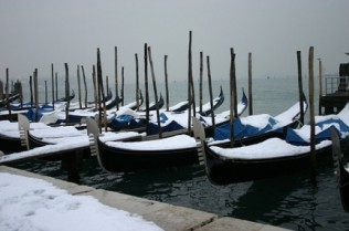 Venice in Snow - photo Diana Havenhand