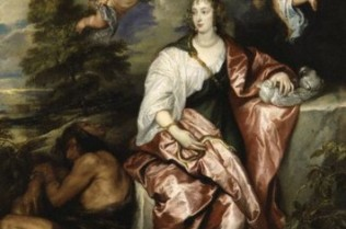 Venetia Lady Digby as Prudence by Sir Anthony van Dyke