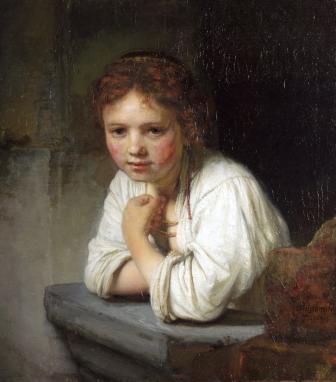 Rembrandt's Girl at a Window