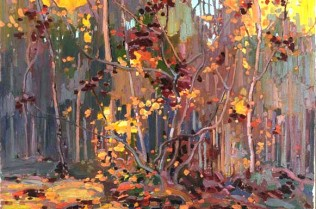 Tom Thomson 'Maple Saplings' The Thomson Collection © Art Gallery of Ontario