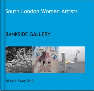 south london women artists bankside gallery show catalogue cover