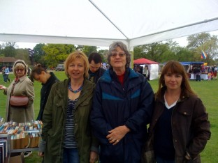 Friends of Dulwich Picture Gallery bookstall at Dulwich Park Fair