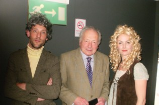 (From Left to right: David Bramwell, Robin Hardy, and Eliza Skelton)