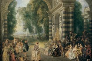 Jean-Antoine Watteau, Les Plaisirs du Bal
