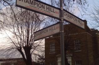 Er, which was is Denmark Hill?