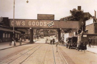 East Dulwich station 1952