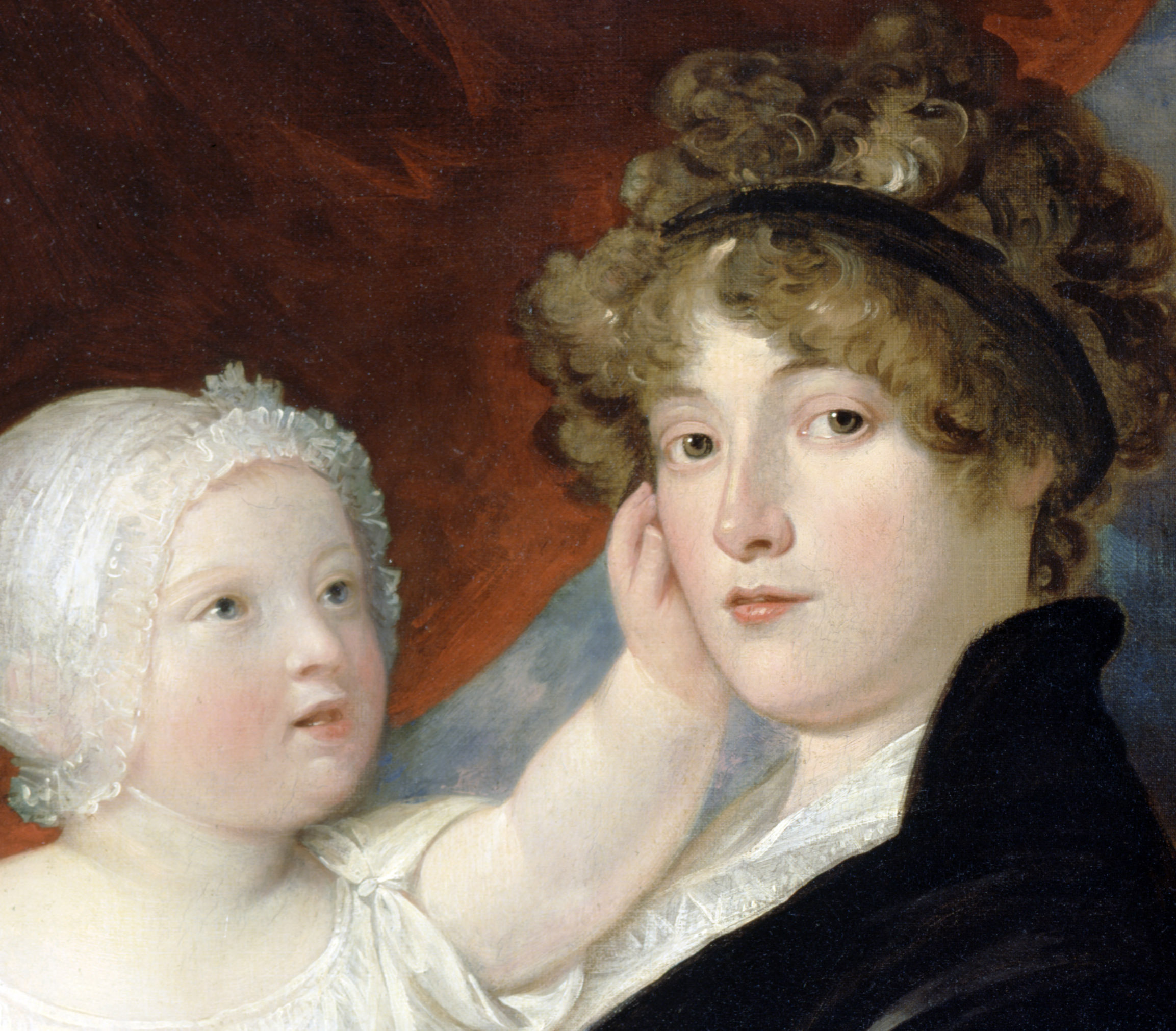 Mother and Child by Benjamin West