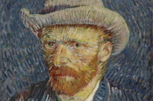 Vincent van Gogh, Self Portrait with Felt Hat, 1888.