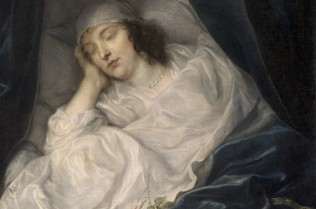 Anthony van Dyck, Venetia, Lady Digby, on her Deathbed, 1633