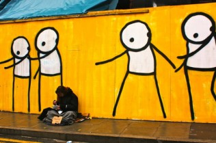 Stik People's concern for homeless person
