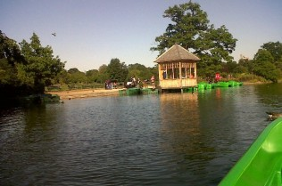 dulwich park-boat riding