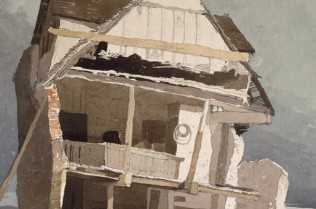 John Sell Cotman: A Ruined House