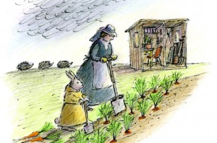 4.digging carrots