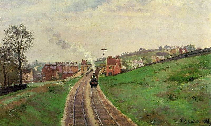 pissarro_lordship_lane_station