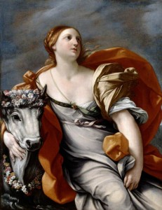 'Europa and the Bull' by Guido Reni