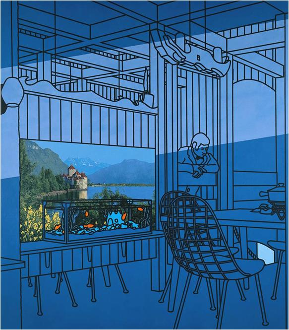 Patrick Caulfield After Lunch 1975 Tate
