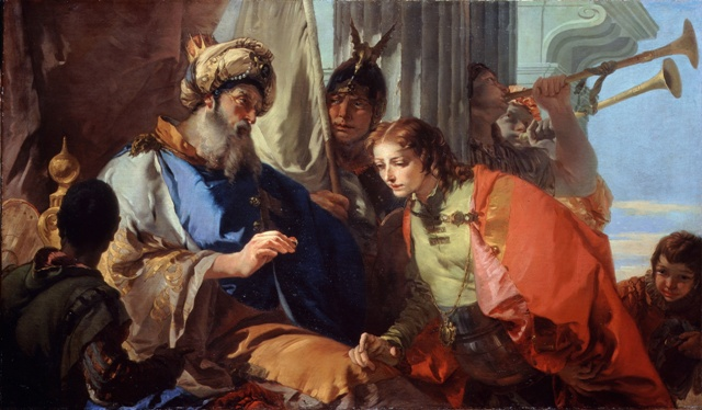 Web Tiepolo,Giambattista Joseph receiving Pharaohs Ring