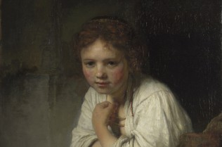 Girl at the window  Rembrandt Dulwich Picture Gallery