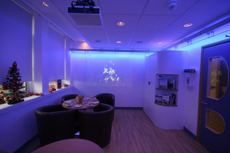 The multi-sensory room for people with dementia