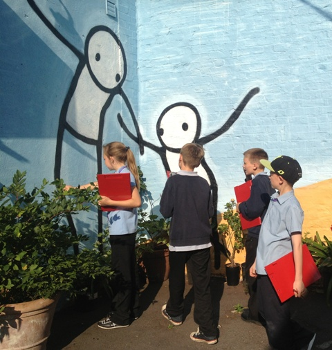 Dog Kennel Hill with Stik photo by Stephen Hales