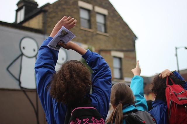 school walk Harris Academy photo by Alex Kozobolis