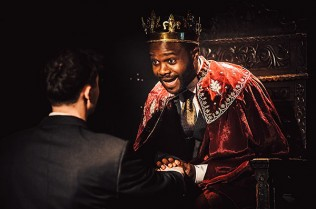 Prince Plockey as Richard © The Blue Elephant Theatre