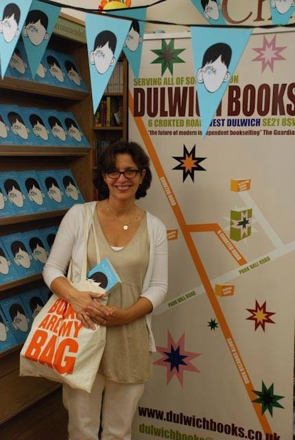 R. J. Palacio at Books are my bags event 2013