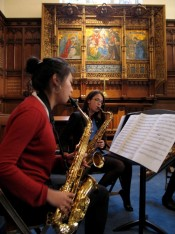 Saxophone-Quartet-lunchtime-concert-in-Chapel1