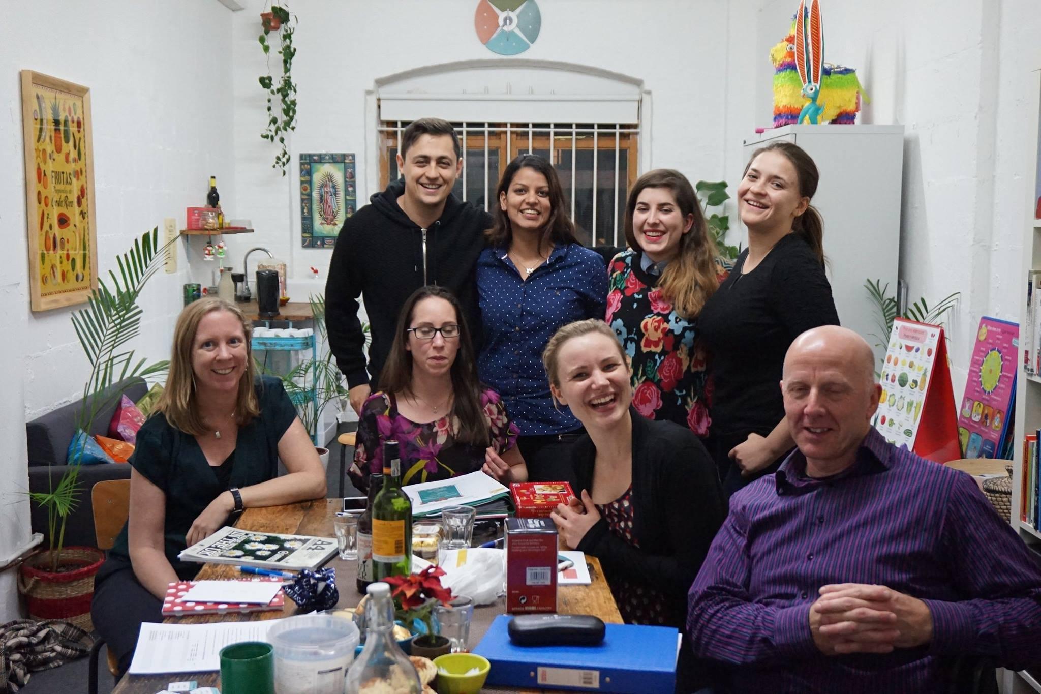 Battersea Spanish class celebrates graduation day