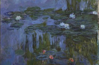 Nympheas (Waterlilies), Claude Monet 1914-15, on loan from Portland Art Museum, Oregon (c) Portland Art Museum, Portland, Oregon