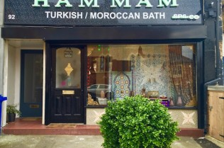 Exterior view of Dulwich Hammam Spa, photo courtesy of Elizabeth Vanderau