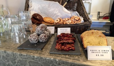 Lemon cake, cinnamon rolls and other Swedish pastries