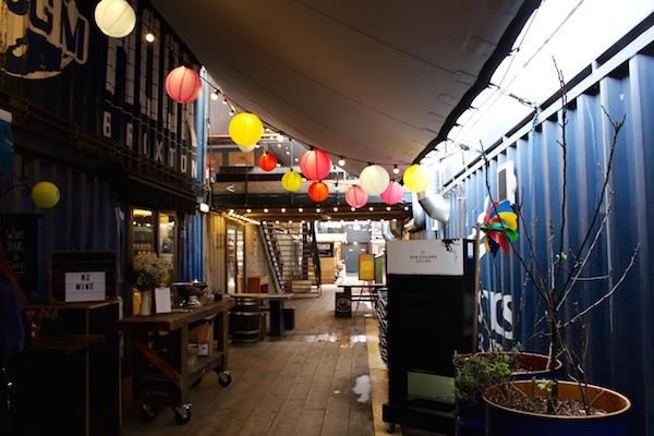 An interior shot of Pop Brixton.