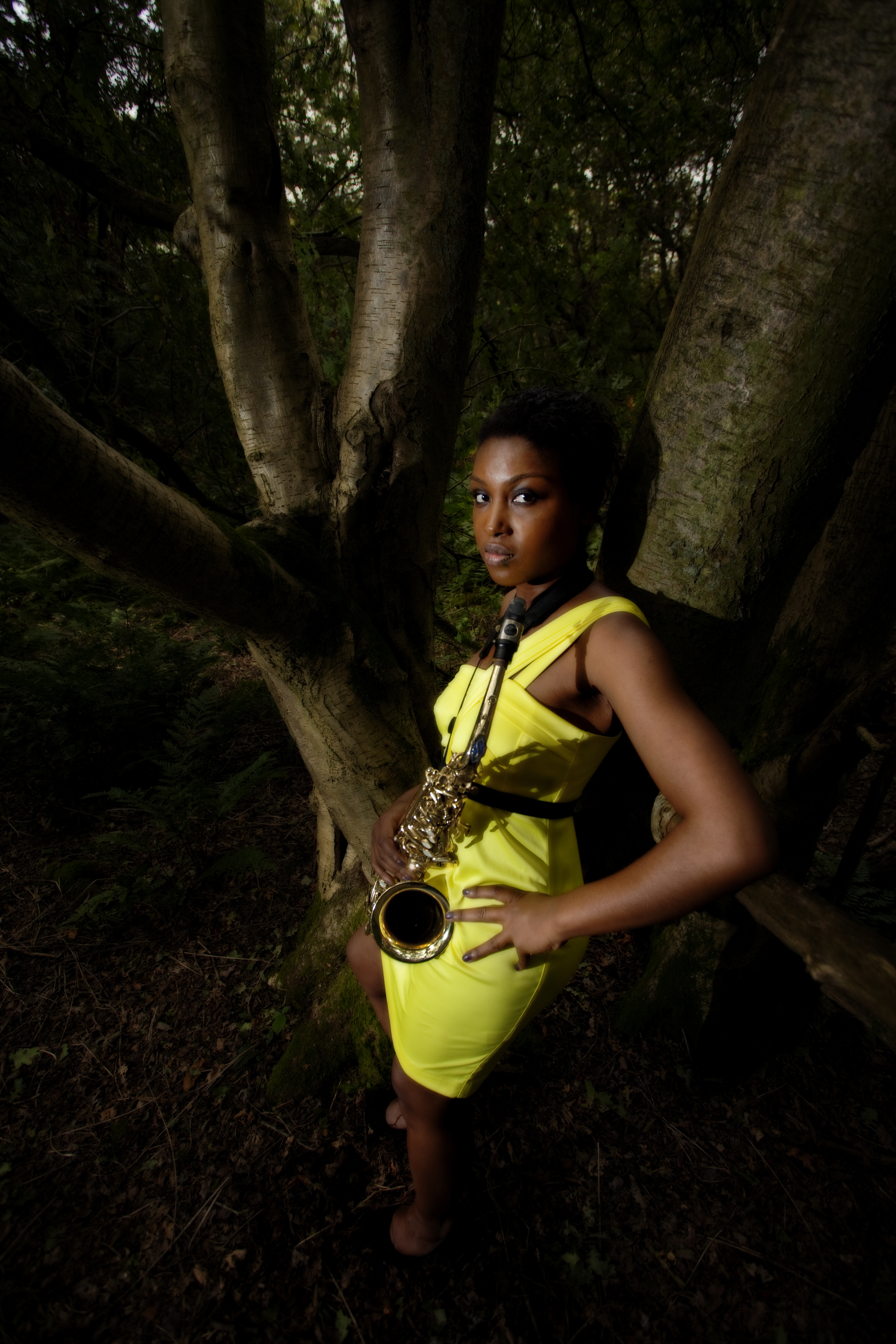 Camilla George, performing on 7th October