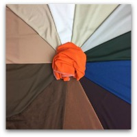 Autumn Neutrals with Orange Impact Colour