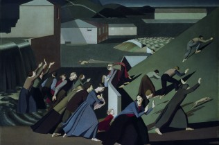Winifred Knights, The Deluge, 1920, Oil on canvas, 152.29 x 183.5 cm, Tate: Purchased with assistance from the Friends of the Tate Gallery 1989. © Tate, London 2016. © The Estate of Winifred Knights